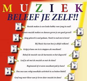 Muziek en dans beleef je bij Musis Sacrum Bakel